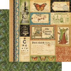 """""""Bazaar of Wonders"""" from Olde Curiosity Shoppe! #CHA #graphic45 #newcollection"""
