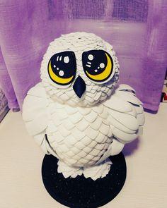 Hedwig, goma eva, Harry Potter, Buho, Lechuza