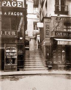 Eugène ATGET - photographe du XIXè siècle - Sous les Toits de Paris