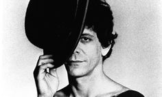 RIP Lou Reed-- poses for the cover session for his album Coney Island Baby, in 1976. Photograph: Michael Ochs Archives/Getty Images