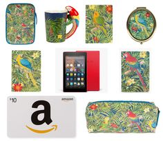 With Love for Books: Kindle Fire, Amazon Gift Card & Sass & Belle Parro...