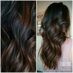 dark on dark balayage - Google Search