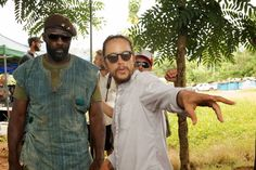 With Idris Elba's role in 'Beasts of No Nation,' director Cary Fukunaga, right, created a...