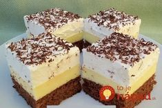 Krispie Treats, Rice Krispies, Sweet Desserts, Tiramisu, Cheesecake, Pudding, Ethnic Recipes, Food, Recipes