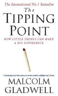 The tipping point is that magic moment when an idea, trend, or social behavior crosses a threshold, tips, and spreads like wildfire. #motivaiton #greatreads #books