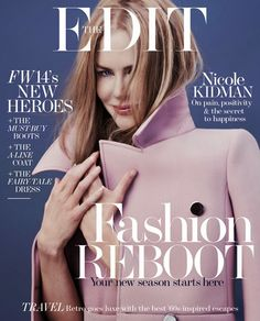 Pretty in Pink: Nicole Kidman covers The Edit