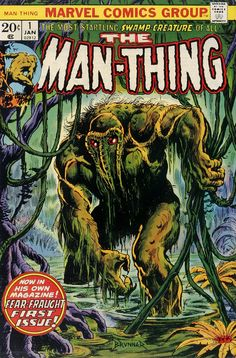 The Man-Thing (1974) - Frank Brunner