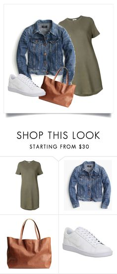 """Untitled #27"" by janka-dzurillova on Polyvore featuring 321, J.Crew and NIKE"
