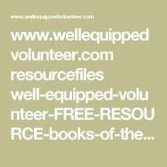 www.wellequippedvolunteer.com resourcefiles well-equipped-volunteer-FREE-RESOURCE-books-of-the-bible-strips.pdf