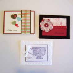 any occasion cards blank set of three by threadsandthings1 on etsy, $12.00