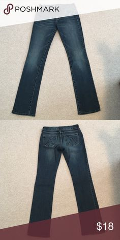 """Delia's """"Morgan"""" Jeans In great condition, no rips, stains, etc. Delia's Jeans Straight Leg"""