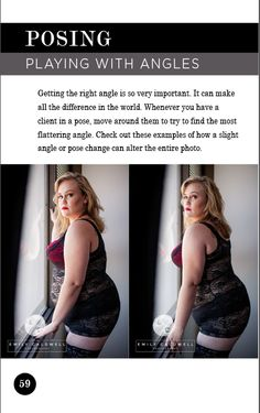 Want to learn how to do more flattering poses in boudoir? What about how to pose plus size? This guide goes over all that and more!