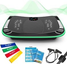 New Bluefin Fitness Triple Motor Vibration Plate Short Workouts, At Home Workouts, Body Workouts, Massage, Organizer Auto, Workout Posters, Body Challenge, Best Vibrators, Bluetooth Speakers