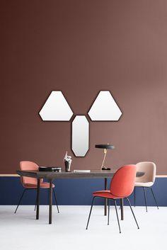 Stellen Sie sich vor um Ihren Esstisch stehen diese farbenfrohen Stühle. Da können Sie doch nur gut in den Tag starten! http://www.flinders.de/gubi-beetle-stuhl