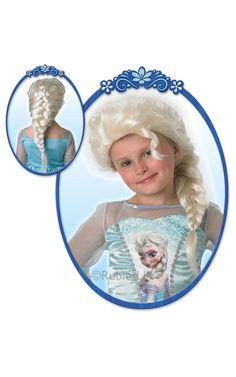Frozen Elsa -peruukki. Lasten malli. Peruukki on lisensioitu Disney Frozen -tuote.
