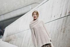 Seoul Fashion Week 2015 S/S Street style!!!  #model #offduty #HanKyungHyun 한경현
