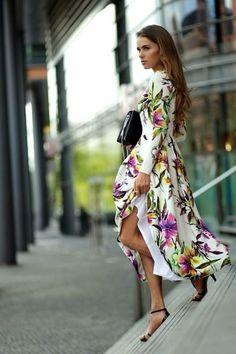 bizuu white floral maxi dress