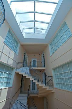 Μουσείο Φρυσίρα (Frissiras Museum) Loft, Bed, Places, Furniture, Home Decor, Decoration Home, Stream Bed, Room Decor, Lofts