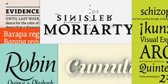 Typography is fascinating. The idea of an intensive class like what is described in this blog post appeals greatly. And I have to admit, I'm curious to see more of one of the fonts designed in the class. Moriarty has a certain elegance to it without descending into delicacy.