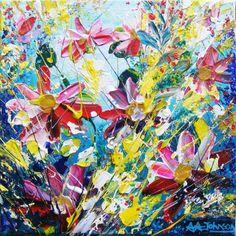 "Teal Art - ""Soothing Rush"""