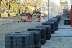 Vorderingen verbreding Langestraat bij Action/Lidl