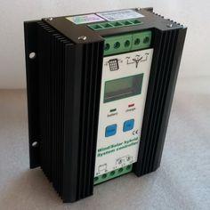 114.82$  Watch now - http://ali4dg.worldwells.pw/go.php?t=32247740324 - 600W 33A MPPT Wind Solar Hybrid Charge Controller 12V/24V, LCD Display Wind Generator 300W+300W Solar Hybrid Battery Regulator 114.82$