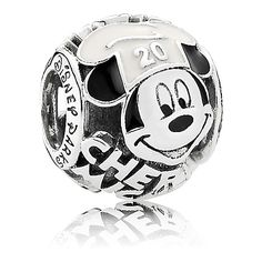 $65 Chef Mickey Mouse Charm by PANDORA - Epcot International Food & Wine Festival 20th Anniversary
