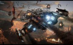 video games starcraft zerg hyperion spaceships science fiction vehicles starcraft ii mutalisk Wallpaper