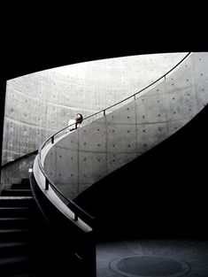 Hyogo Prefectural Museum of Modern Art - Nada-ku, Kobe, Hyōgo Prefecture, Japan / 2002 / Tadao Ando Japanese Architecture, Art And Architecture, Architecture Details, Museum Architecture, Classical Architecture, Ancient Architecture, Sustainable Architecture, Tadao Ando, Interior Stairs