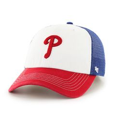 d14774144b9 Philadelphia Phillies Mckinley Closer Royal 47 Brand Stretch Fit Hat