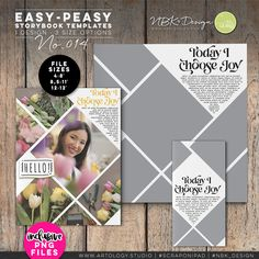 Not every template is created equal! My Easy-Peasy minimalistic Templates are so versatile. They can mix 'n match beautifully together, as a grouping. Each clean [with a twist] Template can be used in multiple ways, while integrating my wide-ranging journal and filler cards and of course all my other digital scrapbooking supplies, like Artsy Bits & Pieces or the craftyArt Products. #digiscrap #scrapbooking #mixedmedia #artjournaling #cardmaking #hybridscrap #scrapbookingideas #nbk_design 12x12 Scrapbook, Scrapbook Templates, Scrapbook Supplies, Digital Scrapbooking, Choose Joy, Detailed Image, How To Better Yourself, Easy Peasy, Project Life