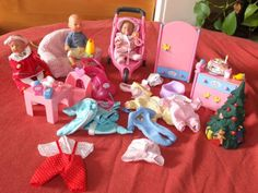 Verkaufe die Mini Baby Born Ausrüstung meiner Tochter mit viel ZubehörVersand zzgl Porto