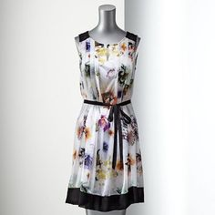 Simply Vera Vera Wang Floral Mesh Dress @ Kohl's, $58