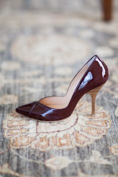 Emerson Fry | super classy but simple Oxblood shoes. Dramatic color without the height and accompanying discomfort.
