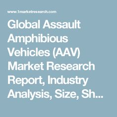 Global Assault Amphibious Vehicles (AAV) Market Research Report, Industry Analysis, Size, Share, Demand, Growth, Trends and Forecast to 2022