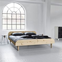 140x200 Twist Bed by KARUP designed in Denmark from Pine Wood #MONOQI