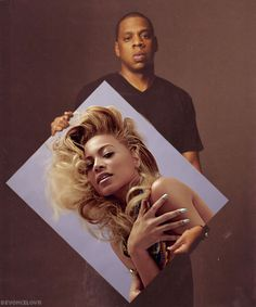 Idea for an engagement picture should I ever get married. I luv this. Jay-Z  Beyonce #blacklove