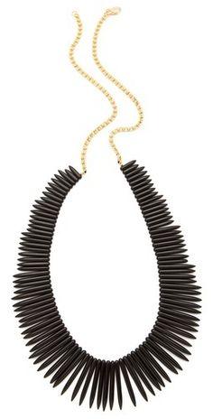 Kenneth Jay Lane Black Stick Necklace   $24.60