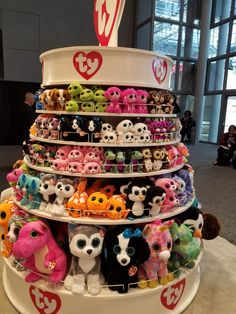 Tower of Ty at Toy Fair