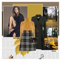 """""""Autumn in Boston"""" by stephaniee90 ❤ liked on Polyvore featuring Michael Kors, Warehouse, Gucci, Yves Saint Laurent and Tom Ford"""