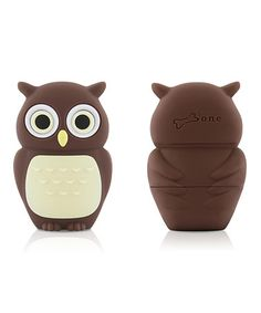 Take a look at this Brown Owl 8GB USB Drive & Changeable Cover by Bone on #zulily today!