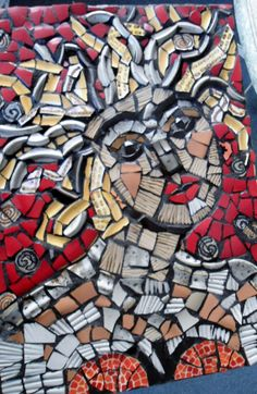 Festive Mosaic Picture / Wall Hanging  /Direct by JustAboutYou, $75.00