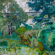 Pierre Bonnard, Paul Gauguin, Landscape Art, Landscape Paintings, Art Français, Ouvrages D'art, Garden Painting, Painting Art, Paintings I Love