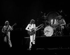 Jimmy,John & Paul in concert, Dallas Texas 1976 (c) Photographic Dreams