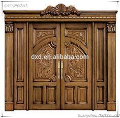 56 Ideas For Wooden Door Design Modern Entrance Wooden Front Door Design, Double Door Design, Door Gate Design, Glass Front Door, Entrance Design, Wooden Sliding Doors, Sliding Glass Door, Double Front Doors, Entrance Doors