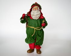 Check out this item in my Etsy shop https://www.etsy.com/listing/458605500/christmas-santa-claus-figurine-vintage