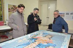 ViVi Web Tv. San Prisco, il mosaico dedicato a Santa Matrona. Antonio Casertano intervista Francesco Farina a cura di Redazione - http://www.vivicasagiove.it/notizie/vivi-web-tv-san-prisco-mosaico-dedicato-santa-matrona-antonio-casertano-intervista-francesco-farina/