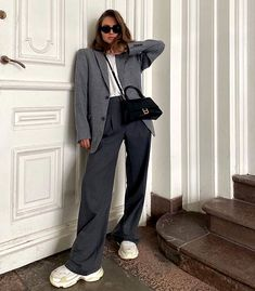 Winter Outfits, Cool Outfits, Casual Outfits, Fashion Outfits, Formal Chic, Lawyer Outfit, Scandinavian Fashion, Muslim Fashion, Types Of Fashion Styles