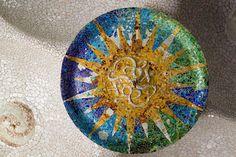 https://flic.kr/p/ayDSYw | Park Güell mosaics | Gaudí stuff