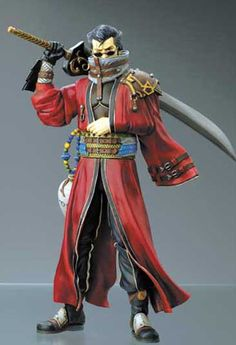 Manga Heaven - Final Fantasy X Play Arts: Auron Action Figure